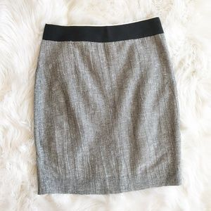 J. Crew Ripple Stripe Pencil Skirt a60